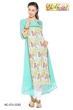 Glamorous Bollywood Style Long Designer Dress Suits at Rs 1199 ...