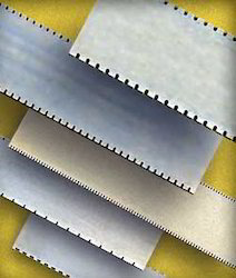 Silver Steel Perforation Blades, For Industrial