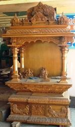 Teak Wood Pooja Mandapam