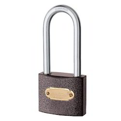 Jainson With Key Hardy Long Shackle Pad Locks, Padlock Size: 50 mm, Packaging Size: > 100 Pieces