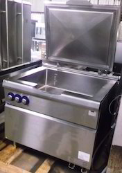 Gas Operated Gear Tilting Brat Pan 150 Liter  Capacity