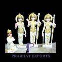Ram Darbar and Hanuman Marble Statue