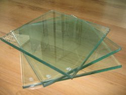 Transparent Clear Toughened Glass, Shape: Flat
