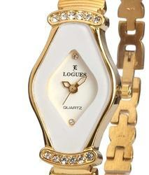 Golden Dial Ladies Watch