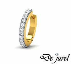 Diamond Studded Gold Nose Pins