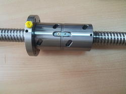Ground Ball Screws With Double Nut