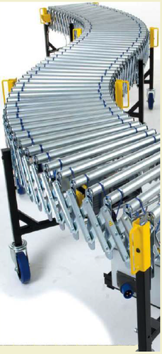 Flexible Roller Expandable Conveyor - Flexible Expandable Roller