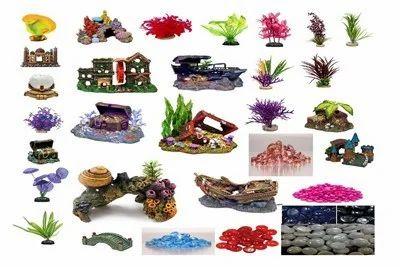 Aquarium Decoration Items, Aquarium Decor, मछलीघर की सजावट ...