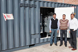 6.3 MVA Containerized Package Substation