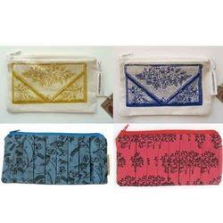 Printed Fabric Pouches
