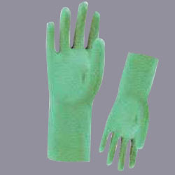 Nitrile Glove with Flock Lining