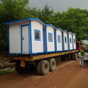 Moveable Container Toilet