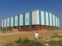 Prefabricated Steel Warehouse Shed