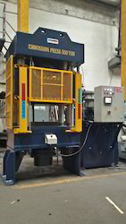 Embossing Press 500 Ton