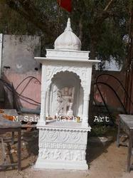 Marble Handcrafted Pooja Mandir