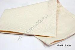 Cotton Plain Diamond-Over Ivory Dinner Napkin