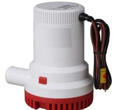 12V 2000GPH Boat Bilge Pump Marine Submersible Water Pump W// Automatic Switch