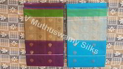 Embossed Silk Cotton Sarees