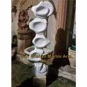 White Marble Modern Art
