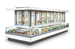 Cabinet Vertical Display Freezer