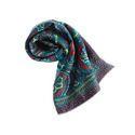 丝绸方围巾