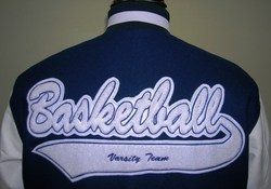 Basketball Chenille Patch