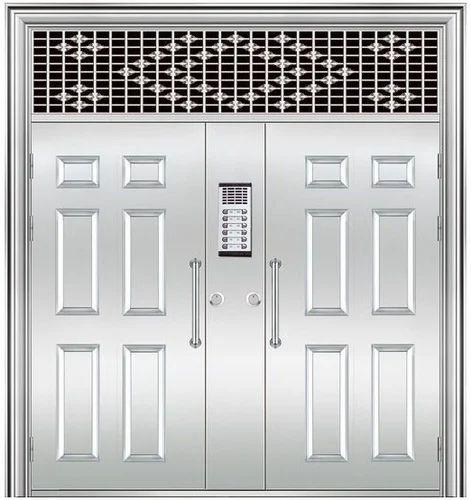 Stainless Steel Door - Stainless Steel Double Door