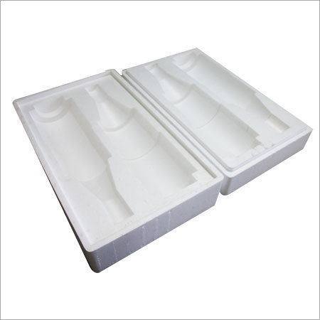 VEA INDUSTRIES White Moulded Thermocol Packaging Box