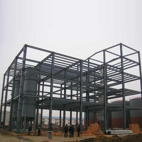 Prefabricated Steel Frame Building at Rs 135 /square feet ...