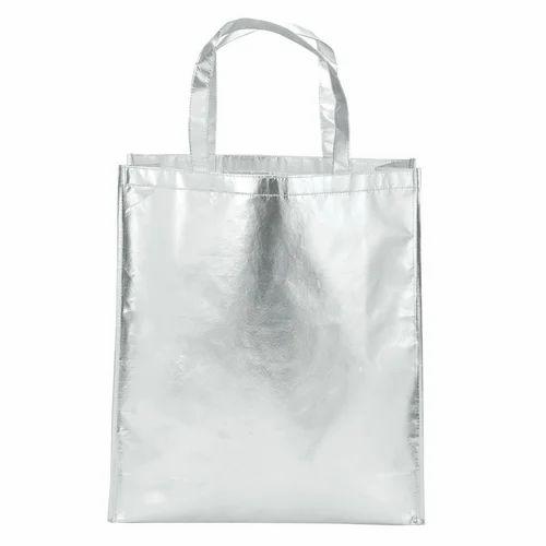 Non Woven Plain Silver Bags
