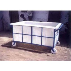 Plastic Laundry Trolley