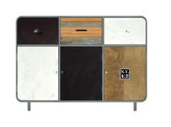 Panama 3 Drawer 3 Door Cabinet