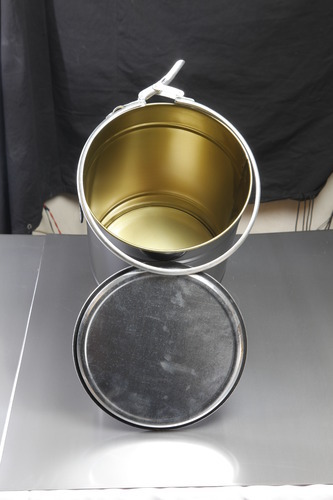 Epoxy Coated Drum, Buckets & Barrels - Metal Seam Co  Pvt