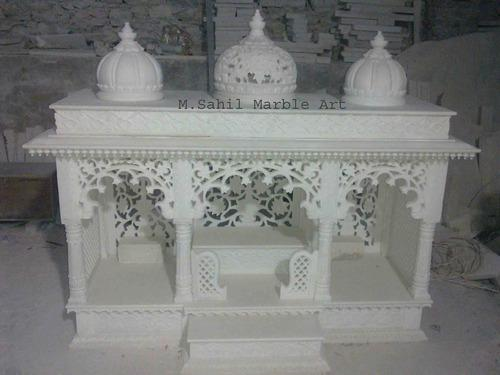 Home temple designs in marble awesome home for Marble temple designs for home
