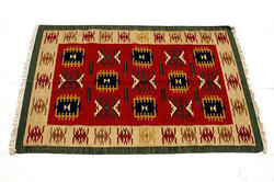 Shag Square Durries, for Home, Size: 6 x 6 Feet