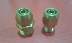 Brass Pneumatic Fittings, Size: 1/4 & 1 inch