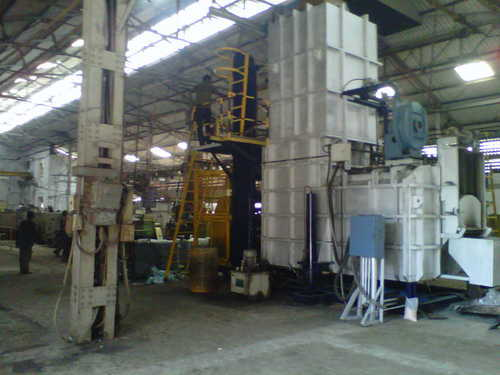 Melting Furnaces With Aluminium Swarf Drier Tower