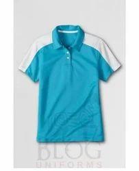 Contrast Pique T Shirt
