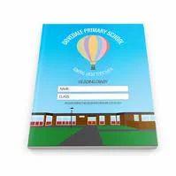 Custom Printed School Diaries