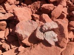 Red Oxide Lumps