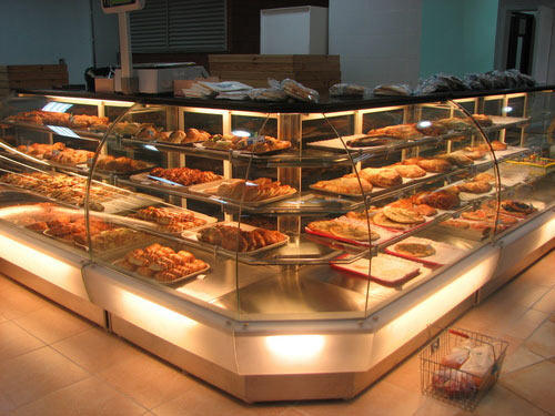 Pastry Display Counter Straight Display Counter