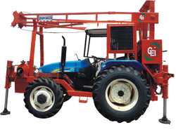 Tractor Mounted Drilling Rig with Getech