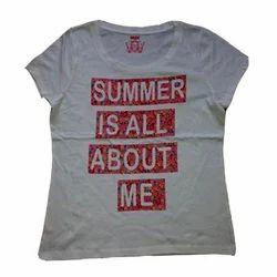 Ladies Text T-Shirt