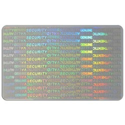 Secure Genuine Identity Card Overlay