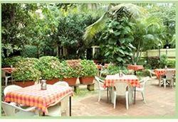 Beautiful Garden Restaurant Service