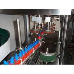 Automatic Linear Screw Capping Machine