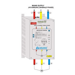 Motor starters in surat gujarat india indiamart for Soft start 3 phase motor