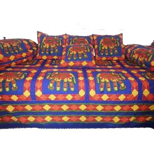 Majestic Diwan Bed Sheet