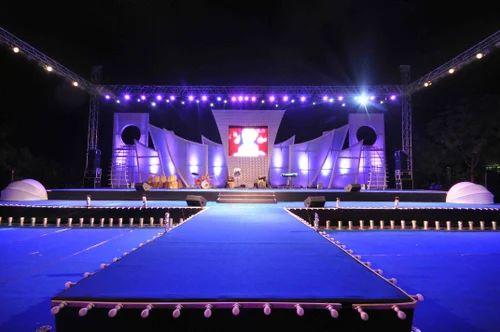 Live Performance Stage Shri Bajrang Steel Works In Vki