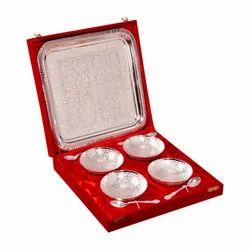Royal Wedding Gifts Silver Plated Bowl Set